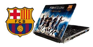Portátil del F.C. Barcelona