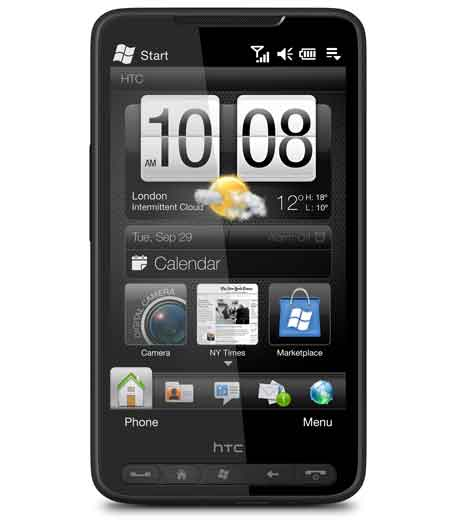 Nuevo HTC HD2 Leo