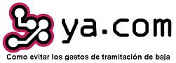 Evitar los gastos de tramitación de baja de YA.com