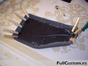 Ajustado la tapicería